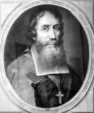 Born in Tours, Indre-et-Loire, Pallu was recruited by Alexander de Rhodes as a secular clergy volunteer, assigned to become a missionary in Asia. In 1658 Mgr Pallu became Bishop of Heliopolis, Vicar apostolic of Tonkin, Laos, and five provinces of southwest China.<br/><br/>  After considerable difficulties and several years delay, Pallu co-founded in 1665-66 the general seminary in Ayutthaya, Siam. From 1667 to 1673 Pallu was in France, where he published an account of the French missions in Southeast Asia. He returned to Siam in 1673.<br/><br/>  In 1674, Mgr Pallu was sailing to his archdiocese in Tonkin, but met with a storm and had to land in Manila. He was imprisoned by the Spanish and put on a ship to Acapulco and from there to Spain to be judged. He was finally freed through the intervention of Pope Innocent XI and Louis XIV. After this involuntary trip around the world, he was only able to return to Siam in July 1682.<br/><br/>  In 1684, Pallu arrived in China, where he took charge of the Roman Catholic Archdiocese of Fuzhou. He died in the same year in Muyang, Jiangsu.