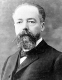 Doumer was born in Aurillac, in the Cantal département, in France on 22 March 1857. He was Governor-General of French Indochina from 1897 to 1902. After returning from French Indochina, Doumer served as President of the Chamber of Deputies from 1902 to 1905.<br/><br/>  He was elected President of the French Republic on 13 May 1931, defeating the better known Aristide Briand, and replacing Gaston Doumergue. On 6 May 1932, he was shot in Paris at the opening of a book fair by Paul Gorguloff, a mentally unstable Russian émigré. He died at 04:37 a.m. on 7 May.<br/><br/>  The Long Bien Bridge in Hanoi was built during his term as Governor-General and was named for him. It became a well-known landmark and target for US pilots during the Second Indochina War.